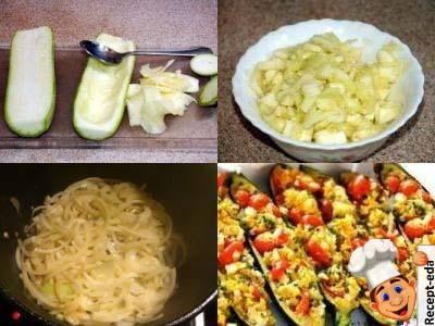 цукини фаршированные рисом и овощами