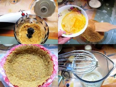 десерт из йогурта и желатина