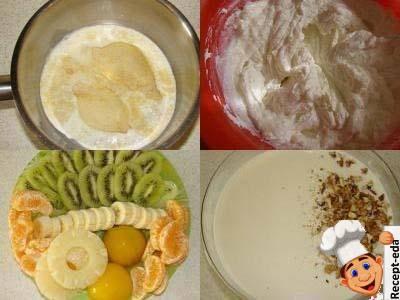 десерт из творога сметаны и желатина
