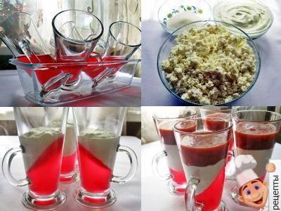 десерт с клубникой рецепт