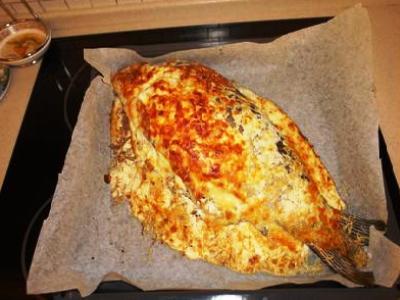 фаршированный карп гречкой в духовке