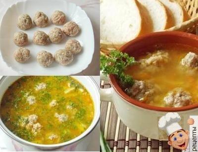 Как готовить гороховый суп с фрикадельками