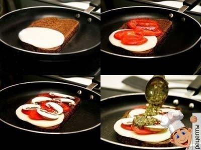 горячиебутербродыиз черного хлеба