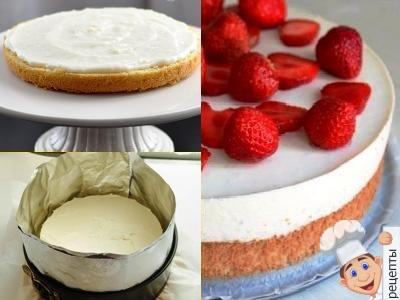 йогуртово муссовый торт с йогуртовым муссом