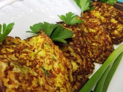 кабачковые оладьи с овсяными хлопьями, рецепт оладьев из кабачковсовсянкой