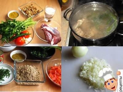 как приготовить суп харчо дома