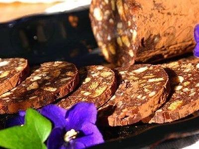 рецепт колбаскииз печенья