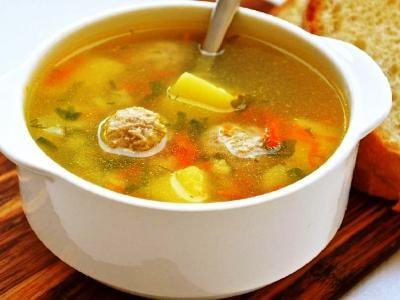 как сварить суп с мясными фрикадельками рецепт