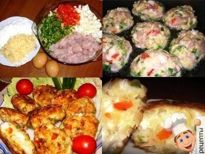 куриные котлеты с кабачком рецепт