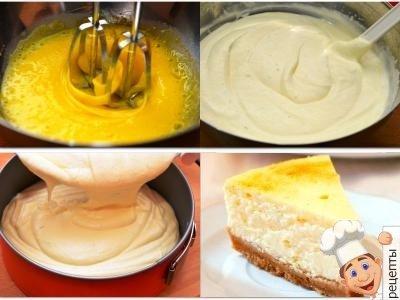 лимонный чизкейк рецепт