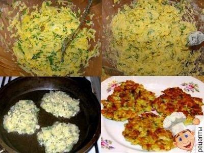 капустные драники с сыром