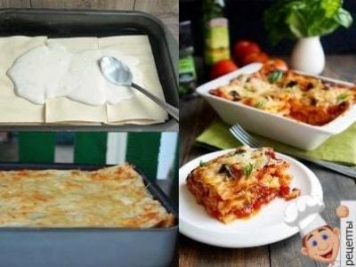 лазанья овощная рецепт классический