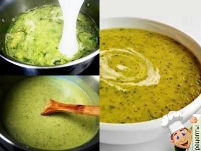 овощной суп пюре с капустой