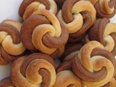 домашнее песочное печенье цветы из теста на маргарине и сметане