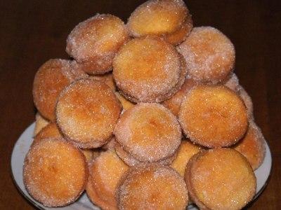 печенье Персики со сущенокой