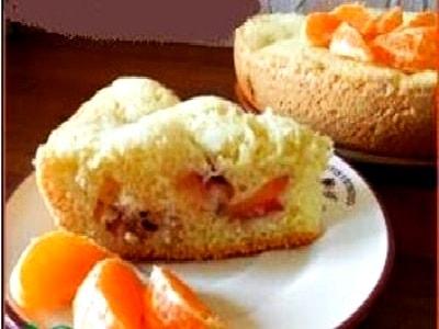 персиковый пирог в мультиварке с функцией выпечки