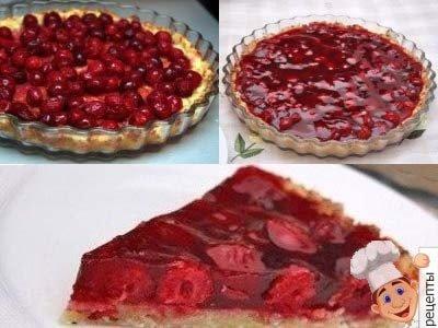 рецепт песочно творожного пирога