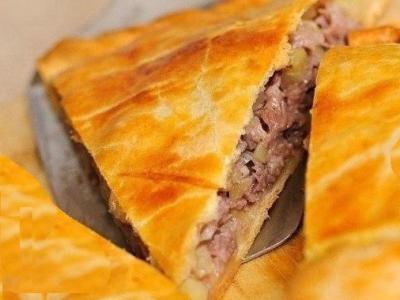 пирог с мясом бараниной и картошкой