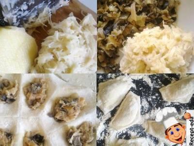 постные блюда из картофеля и грибов