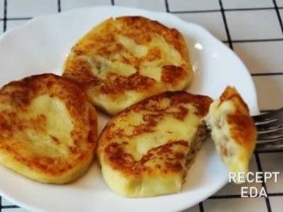 рецепт приготовления зразы картофельные с фаршем, мясом