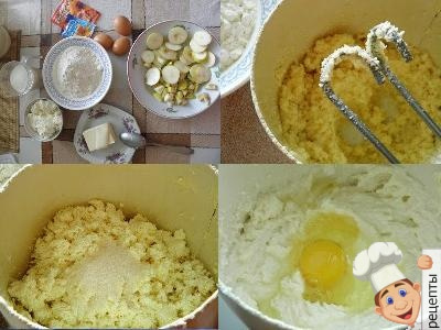 приготовление творожного кекса