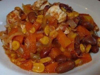 куриное рагу рецепт с овощами