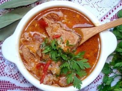 рецепт как приготовить вкусный суп харчо