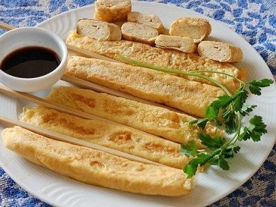 рецепт как приготовить японский омлет тамаго
