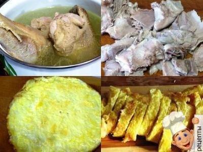 как готовить куриный суп