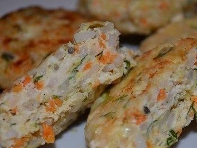 рецепт куриных котлет с кабачками