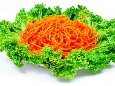 рецепт моркови по-корейски, салат хе из моркови