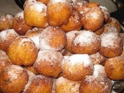 рецепт приготовления творожных пончиков во фритюре