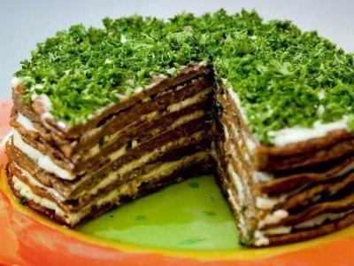 рецепт приготовления вкусного печеночного торта