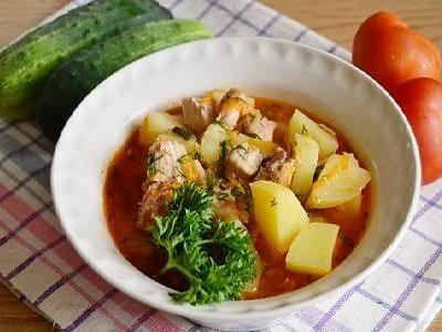 рецепт тушеной картошки с тушенкой