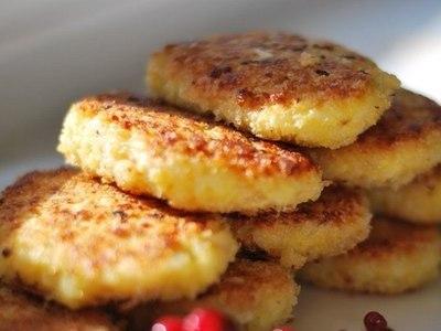 рисовые котлеты с сыром