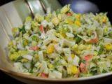 салат пекинская капуста огурец кукуруза