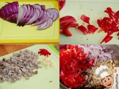 рецепт салата с консервированной фасолью