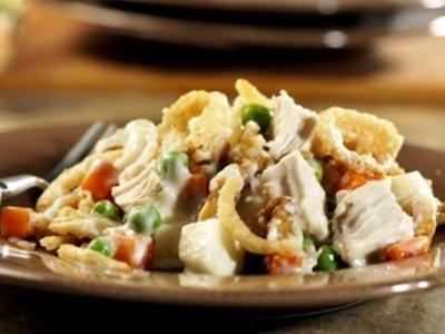 салатс куриной грудкой и грибами, рецепт