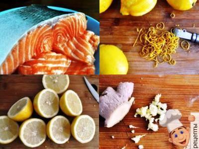салат с маринованной рыбой
