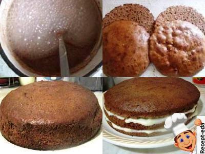 шоколадный сметанник рецепт