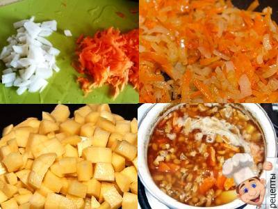 как приготовить суп из белых грибов с перловкой