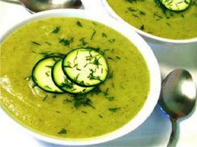 как приготовить овощной суп пюре из цветной капусты и кабачков