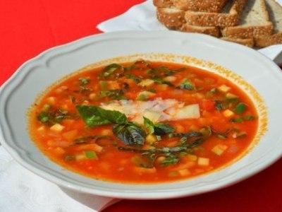 суп с фасолью и перцем, как приготовить