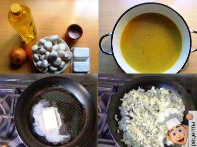 сырный суп грибами рецепт сыром
