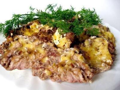 телятина, запеченная в духовке