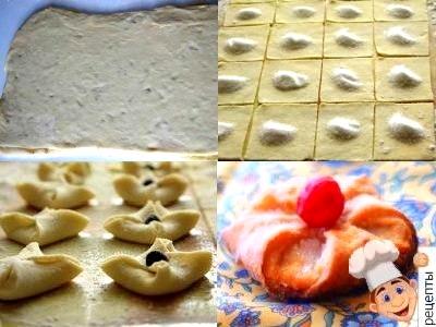 творожное печенье конвертики рецепт