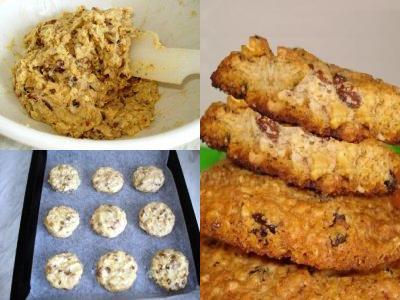 как выпечь вкусное овсяное печенье в домашних условиях