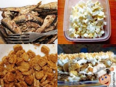 Рецепт салат с грецкими орехами и черносливом и курицей