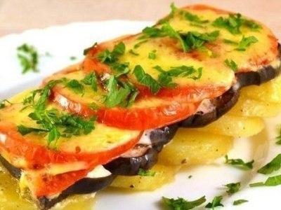 запеканка из кабачков с овощами в духовке