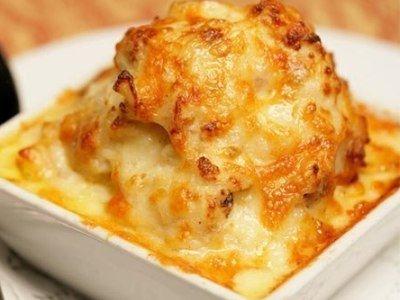 запеканка из тертой сырой картошки с сыром